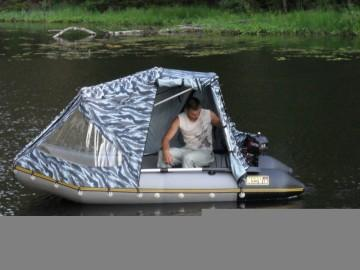 Тент для лодки ПВХ своими руками: материал, фурнитура 88