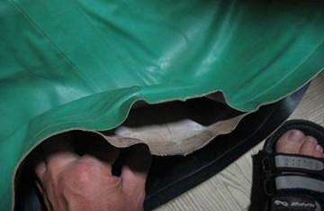 разошелся шов на надувной лодке