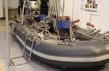 Тюнинг надувных лодок своими руками
