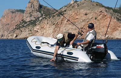 Рыбалка на большом озере