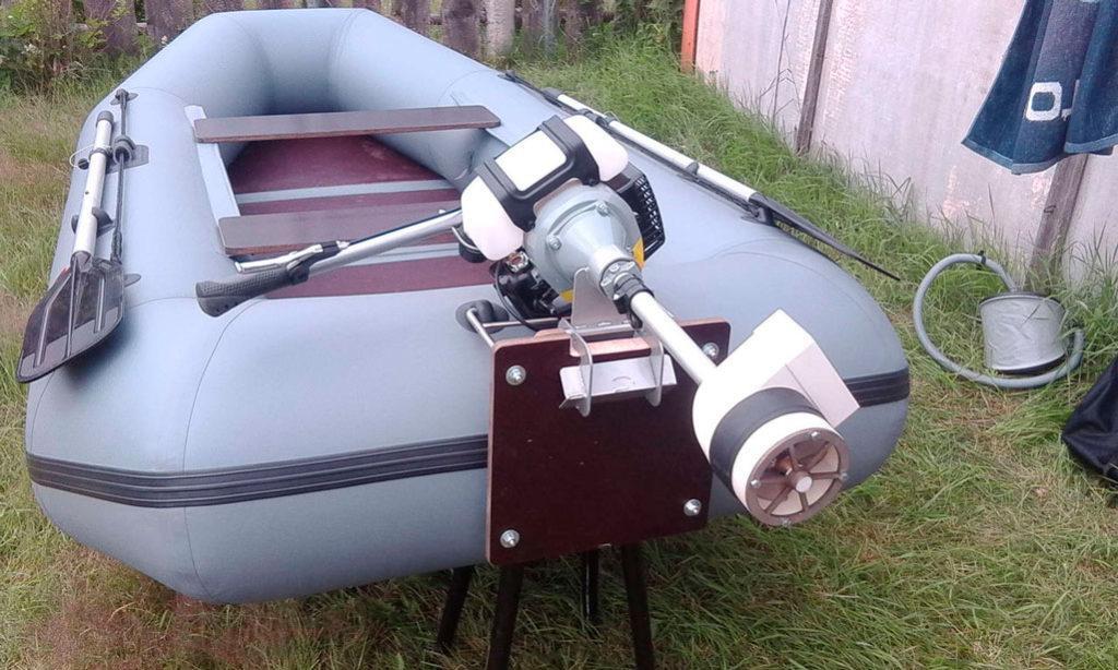 движок для пвх лодки самодельный