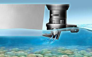 Принцип работы водометной насадки